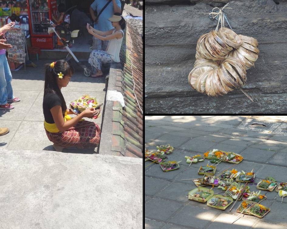 Les offrandes de Bali