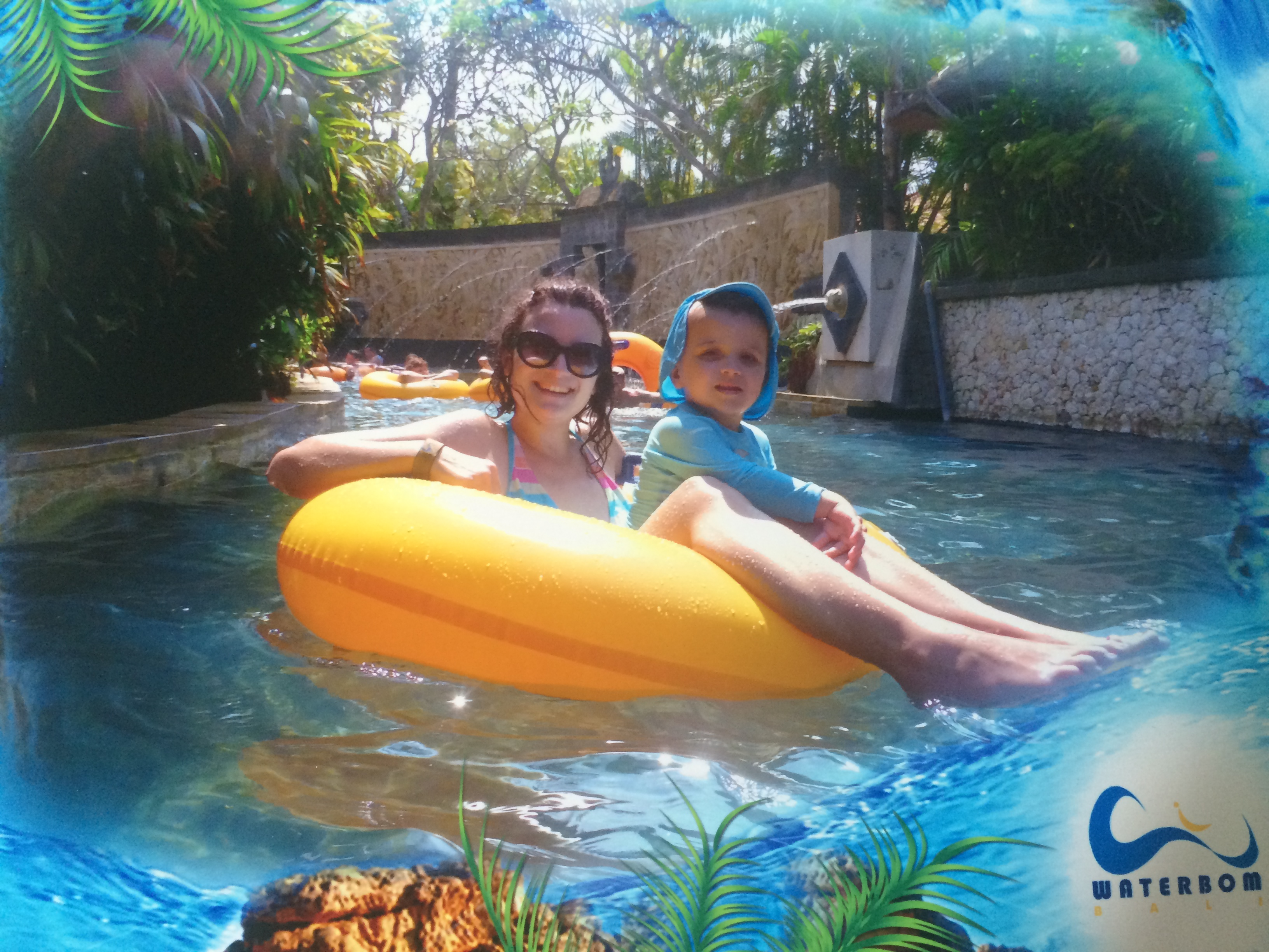 Lazy river, Waterbom Bali